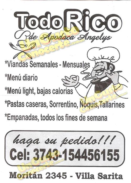 Todo Rico 1gc Villa Sarita Z Norte Delivery Posadas