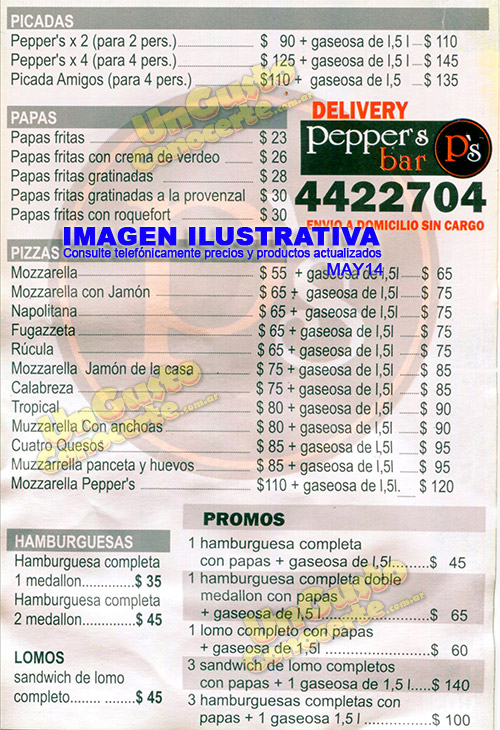 Pepper S 1gc El Centro La Costanera Delivery Posadas